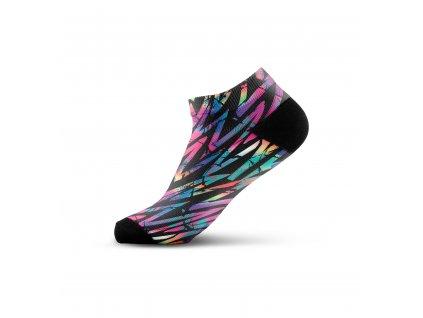 Walkee barevné kotníkové ponožky - Colour spell