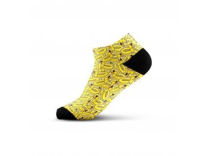 Walkee barevné kotníkové ponožky - Duck paradise
