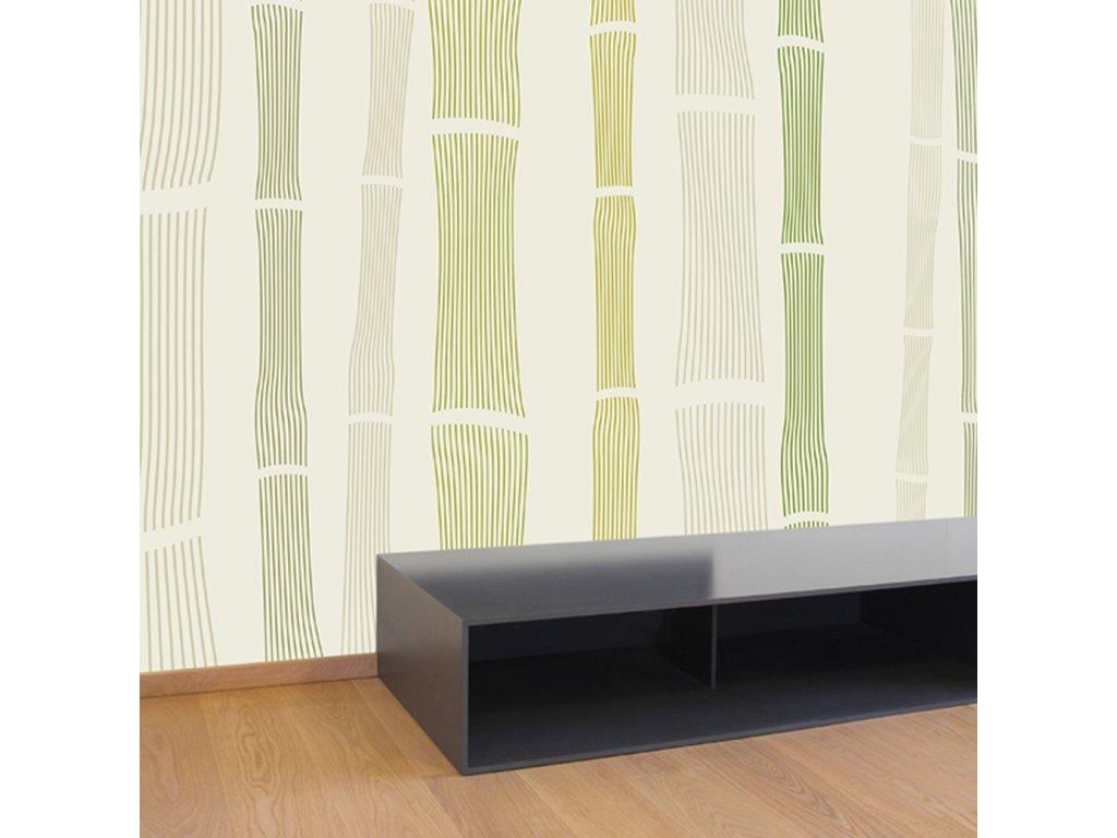 tapeta bambus
