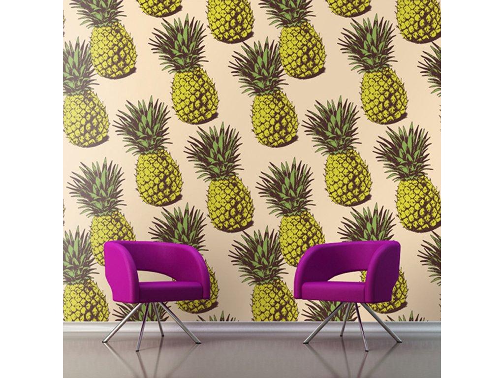 tapeta ananas