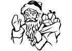 Vánoční samolepky