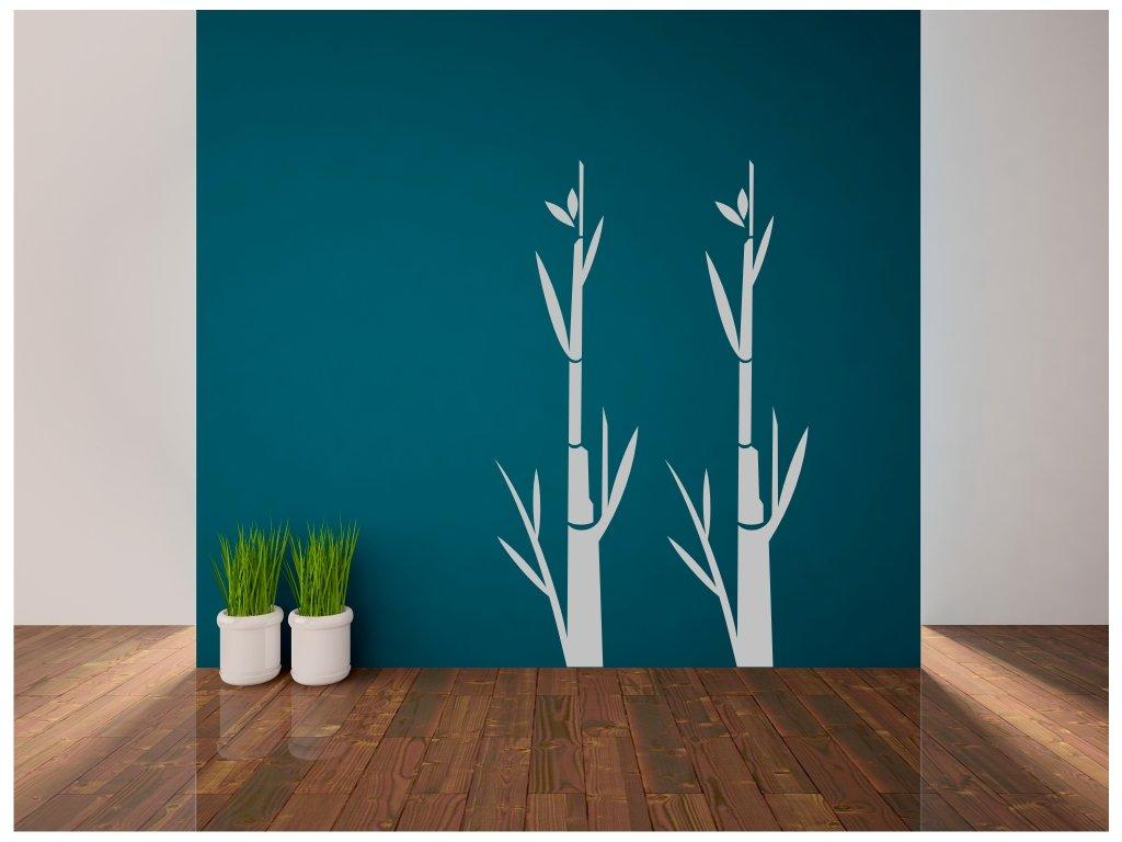 Samolepky na zeď - Bambusy
