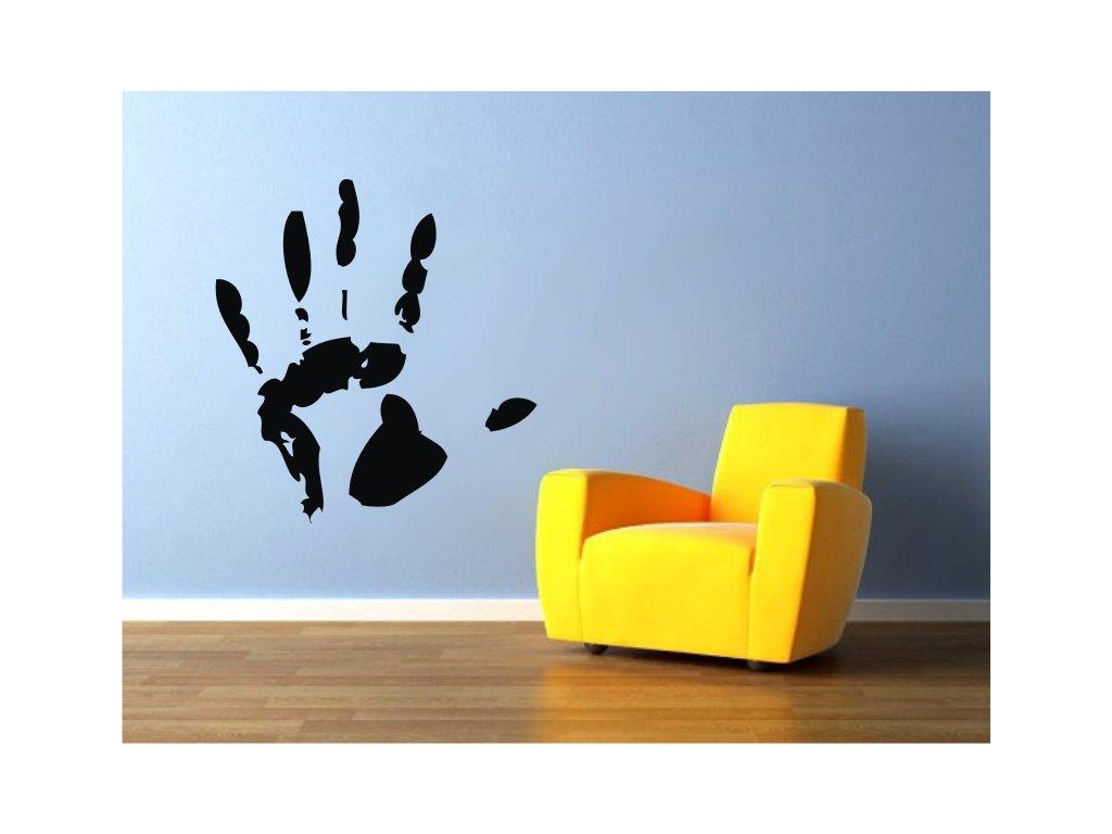 Samolepky na zeď - Decal hand