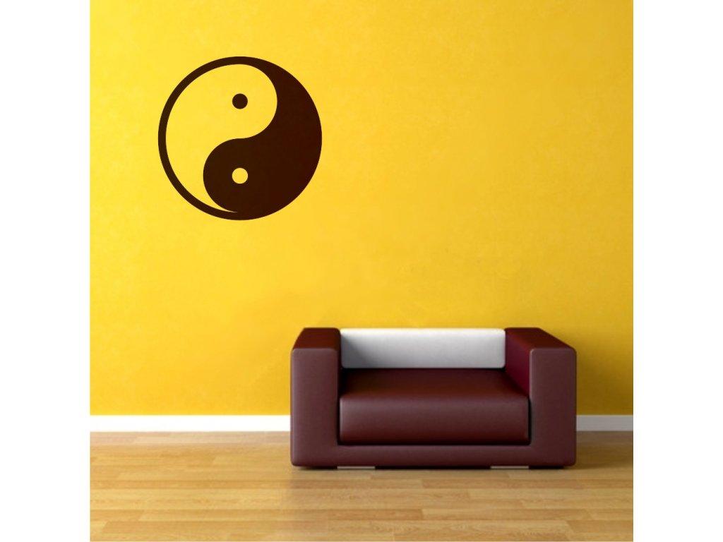 Samolepky na zeď - Jin jang