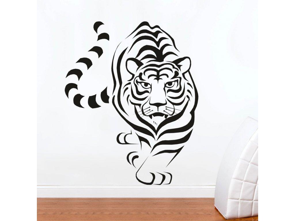 Samolepky na zeď - Tygr