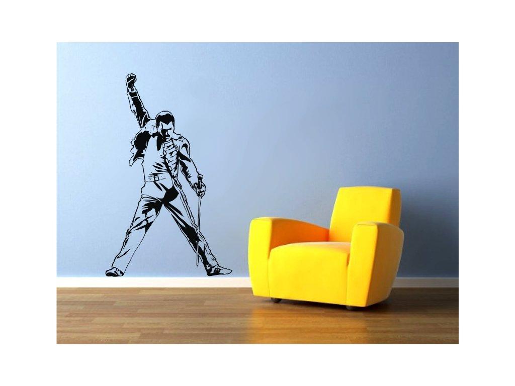 Samolepky na zeď - Freddie Mercury