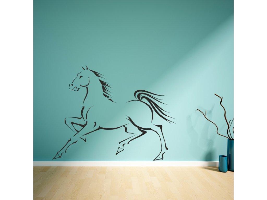 Samolepky na zeď - Sprint horse