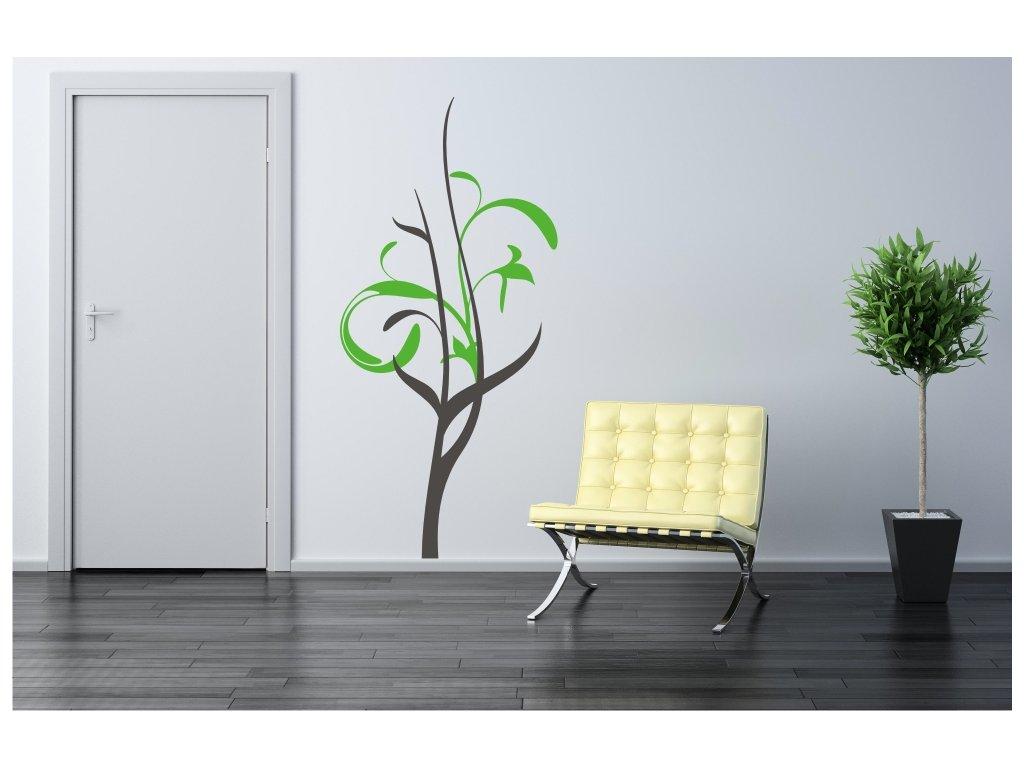 Samolepky na zeď - Pletený strom