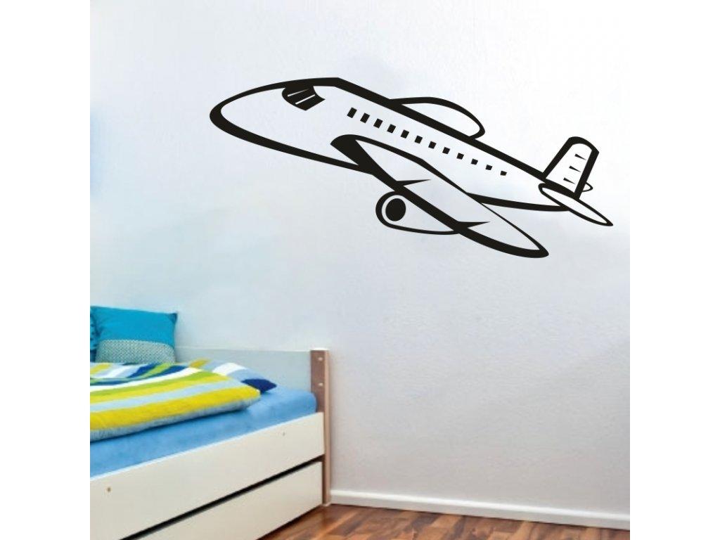 Samolepky na zeď - Airplane