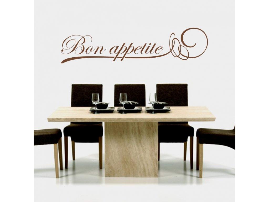 Samolepky na zeď - Bon Appetite