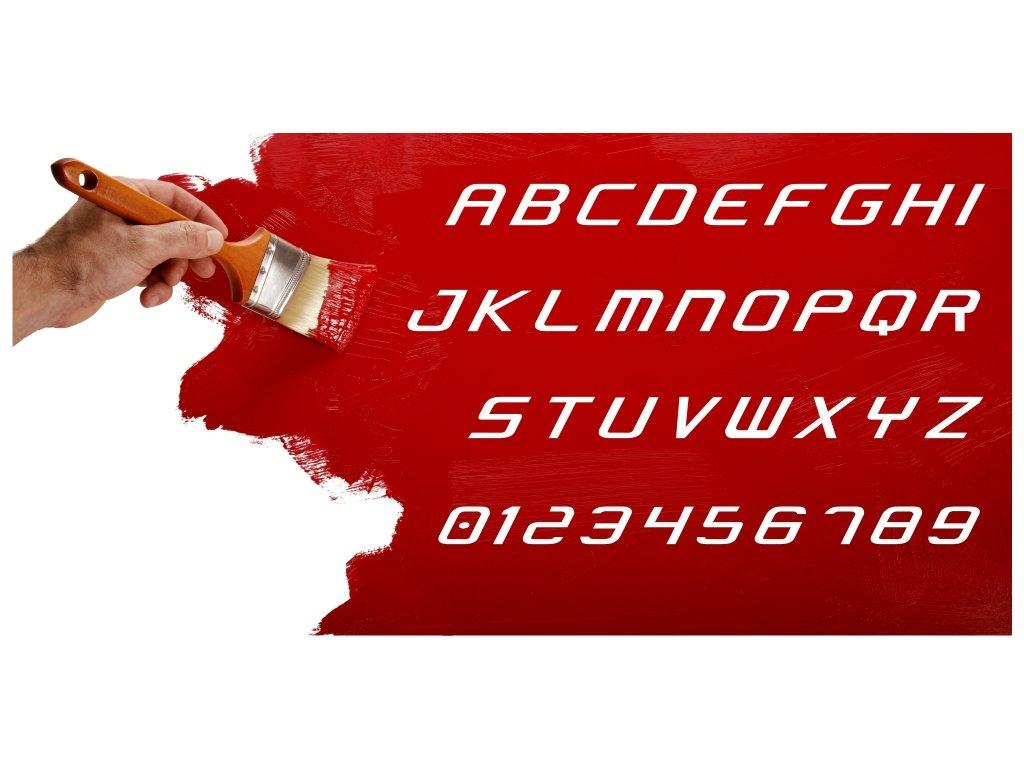 Samolepky na zeď - Text Condensed