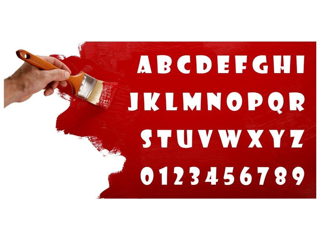 Samolepky na zeď - Text Show card