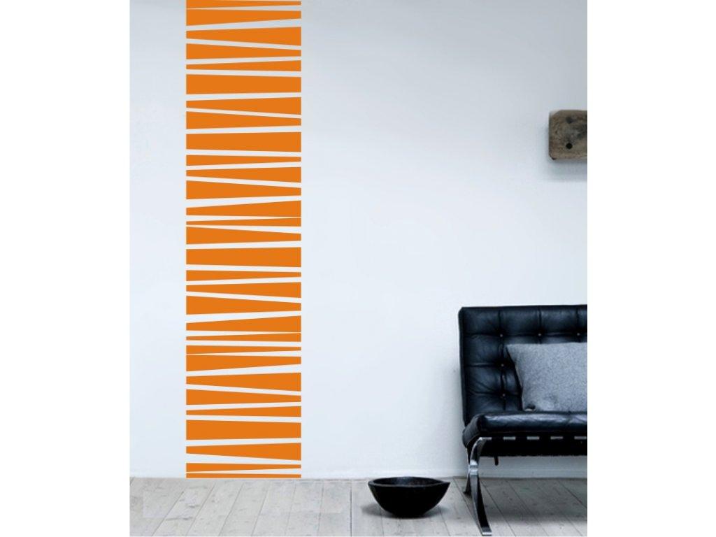Samolepky na zeď - Horizontal lines