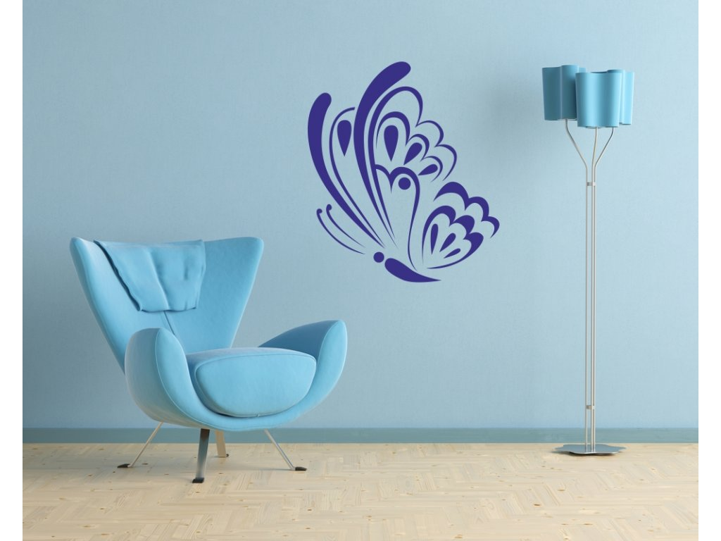 Samolepky na zeď - Motýl Tattoo