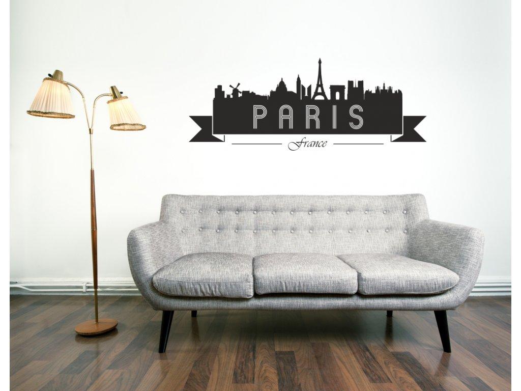 Samolepky na zeď - Paris City
