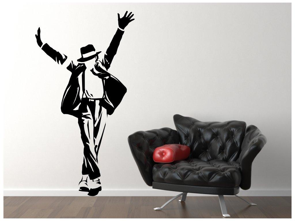 Samolepky na zeď - Michael Jackson dance