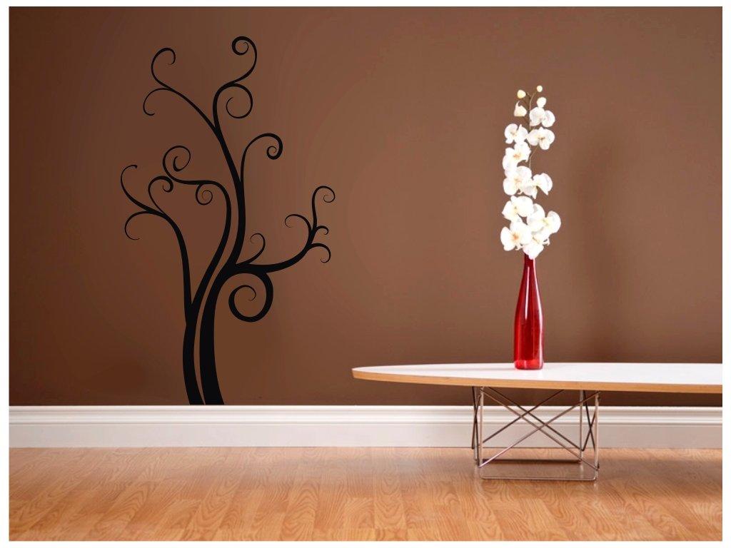 Výprodej  - Strom štěstí, 80x47cm, Černý