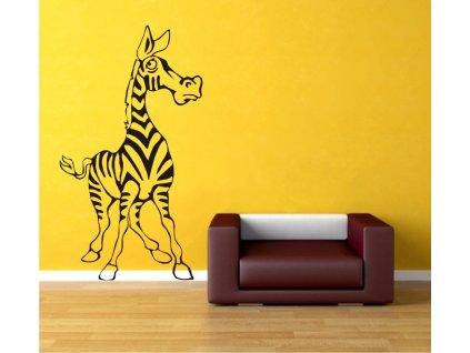 Samolepky na zeď - Zebra