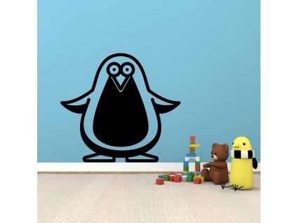 Samolepky na zeď - Penguin