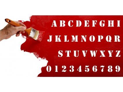 Samolepky na zeď - Text Stencil