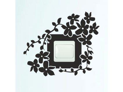 Samolepky na zeď - Vypínač ornament 15