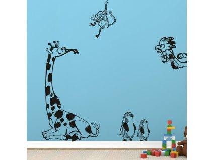 Samolepky na zeď - Zoo