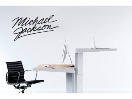 Samolepky na zeď - Michael Jackson podpis