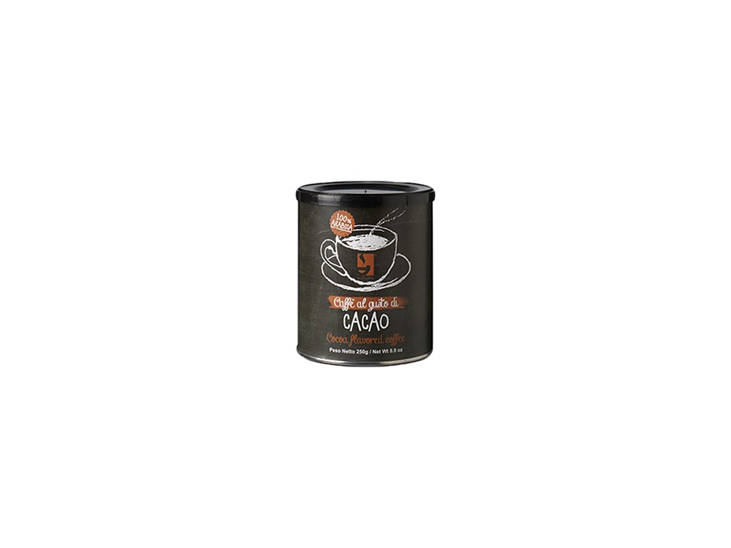 Káva Galliamo 100 % Arabica príchuť Cacao 250g