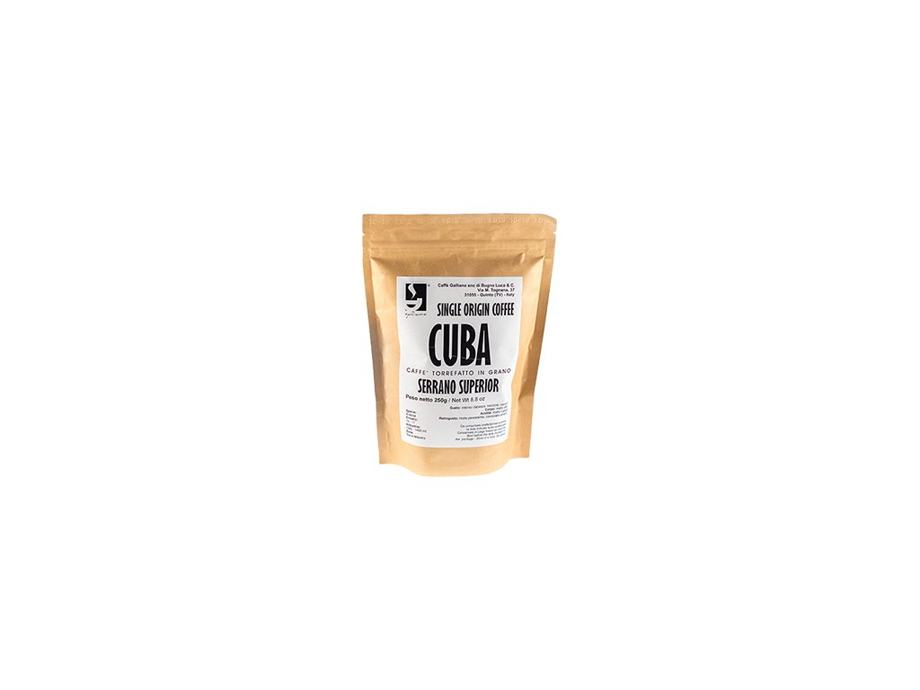 Káva Galliano Cuba 250g zrnková
