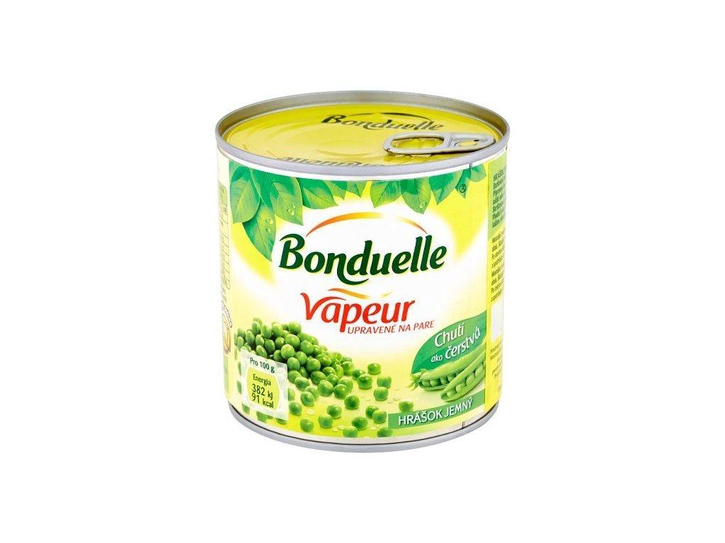Bonduelle Vapeur hrášok veľmi jemný 1x212 ml
