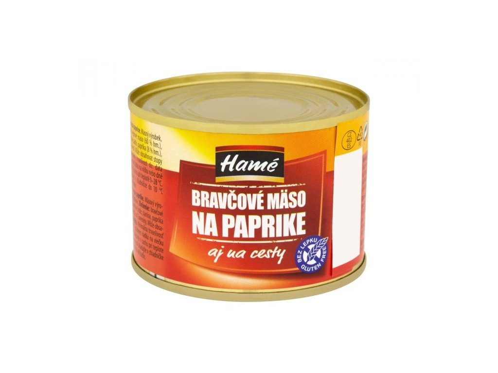 Hamé bravčové na paprike paštéta 10x180 g