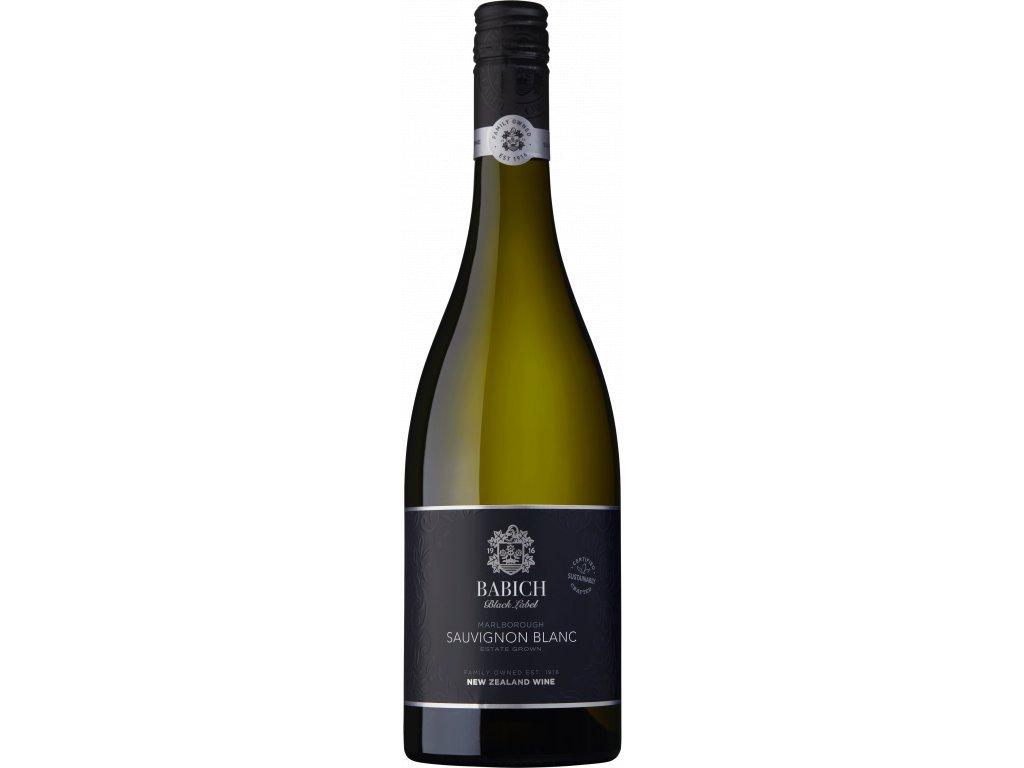 Babich Sauvignon Blanc 2019 Víno - odrodové - víno s ovocno korenistým charakterom a sviežou kyseli