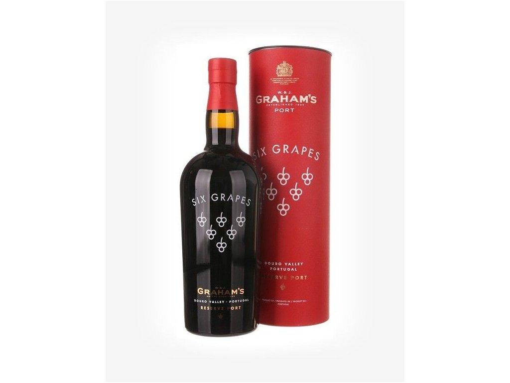 Graham's Six Grapes Reserve Port Fortifikované víno - cuvée, zmesové - bohaté, koncentrované víno s