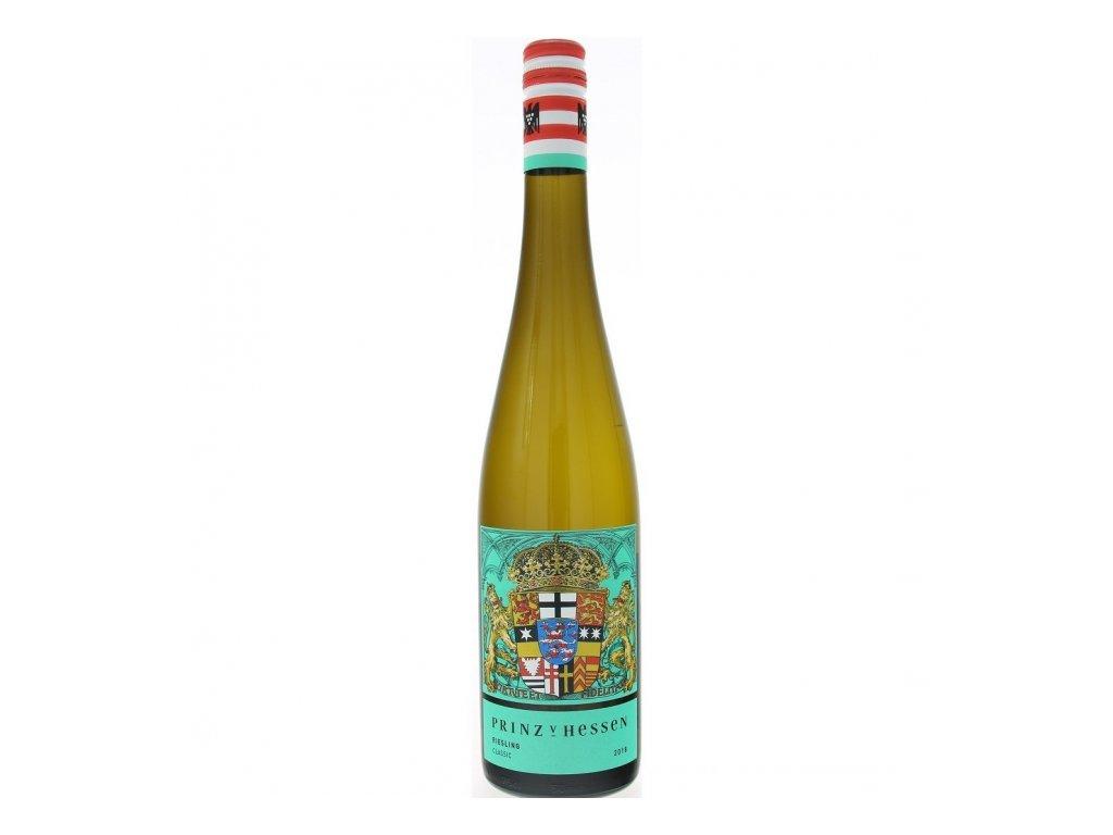 Prinz von Hessen Riesling Classic 2017 Víno - odrodové - ľahké víno so sviežou kyselinkou