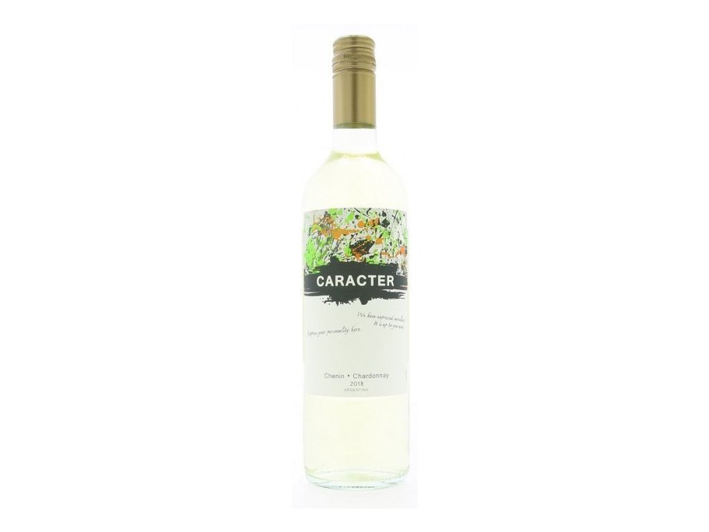 Santa Ana Caracter Chenin - Chardonnay 2018 Víno - značkové - víno s ovocno korenistým charakterom