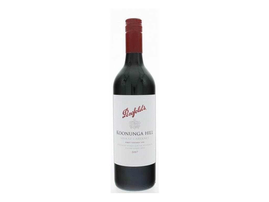 Penfolds Koonunga Hill Chardonnay 2017 Australia-Víno - odrodové - stredne plné víno s herbálno kv