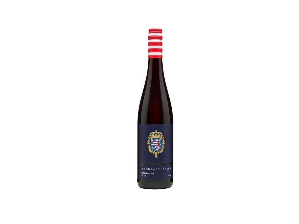 Prinz von Hessen Landgraf Spätburgunder 2016 Víno - odrodové - ľahké víno s ovocným charakterom