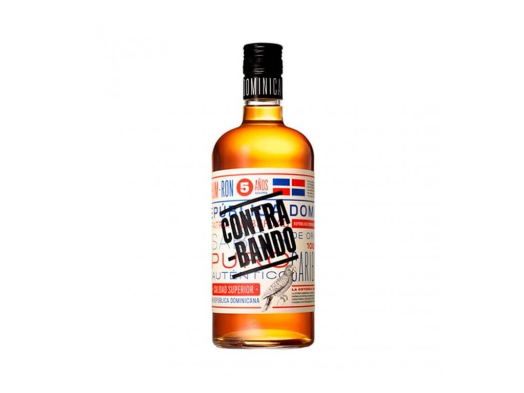 Rum Contrabando 38%, 0,7l