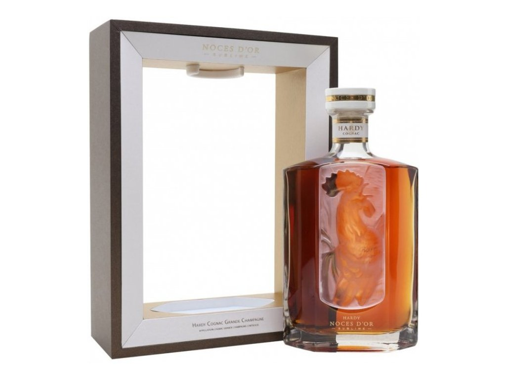 Hardy Noces D´OR Sublime + GB 40%, 0,7l