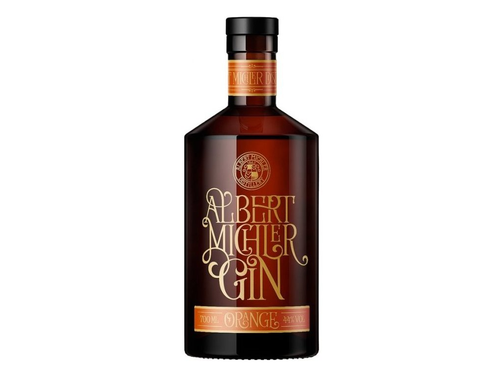Gin Michler´s Orange 44%, 0,7l