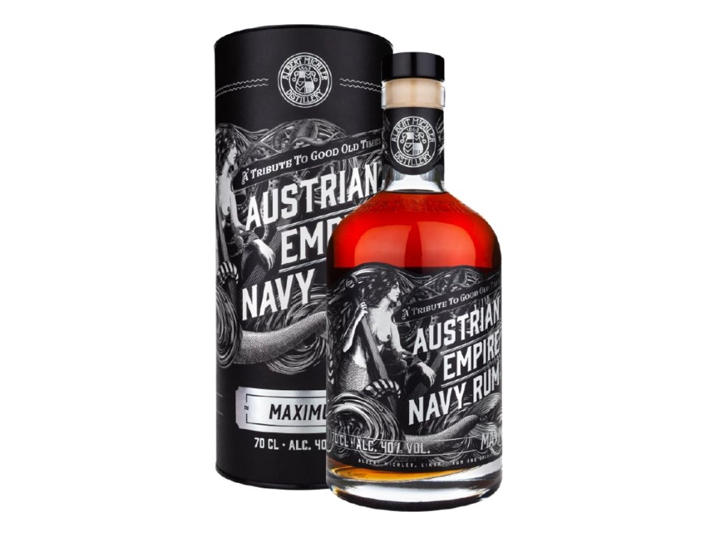 Austrian Empire Navy Maximus Rum + GB 40%, 0,7l