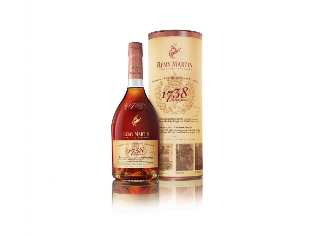 Rémy Martin 1738 Accord Royal + GB 40% 0,7l