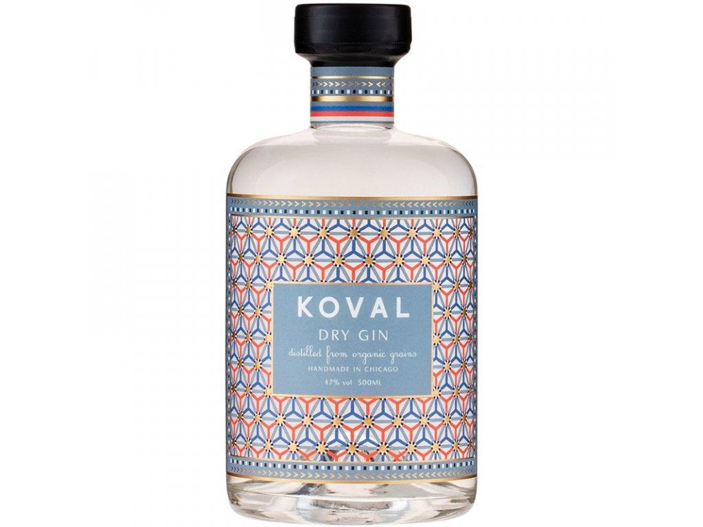 25800 koval dry gin 47 0 5 l