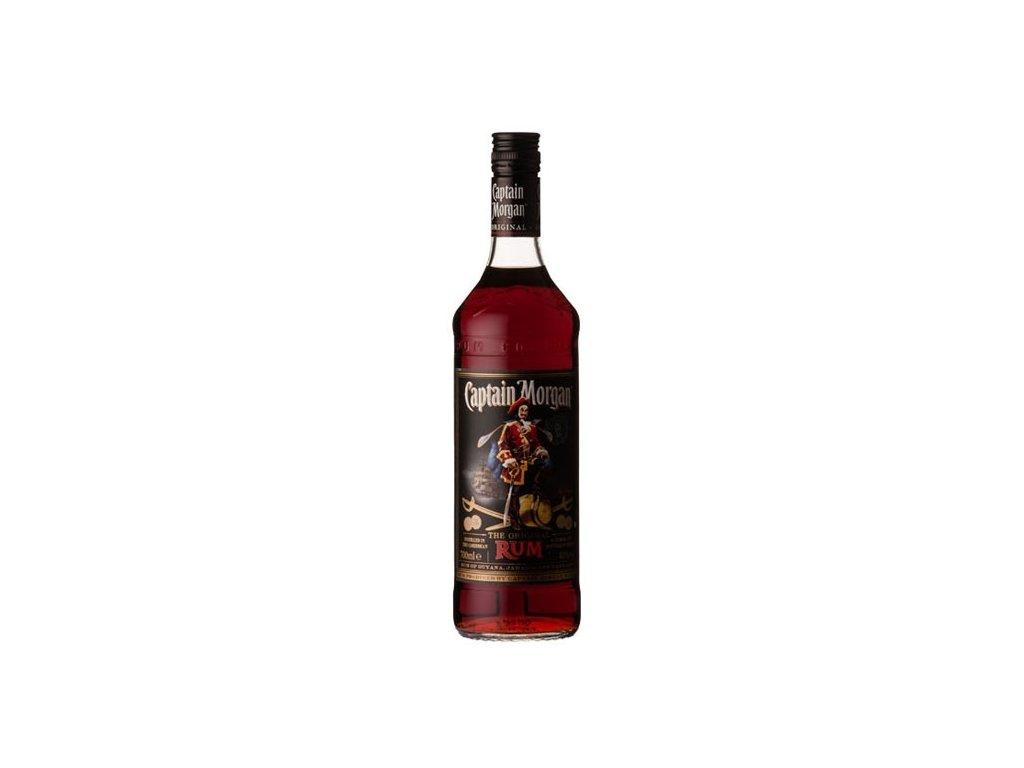 0046448 captain morgan black label rum 1l 550