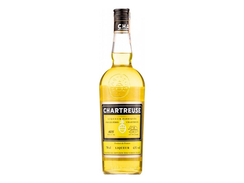 Chartreuse Jaune 43% 0,7l