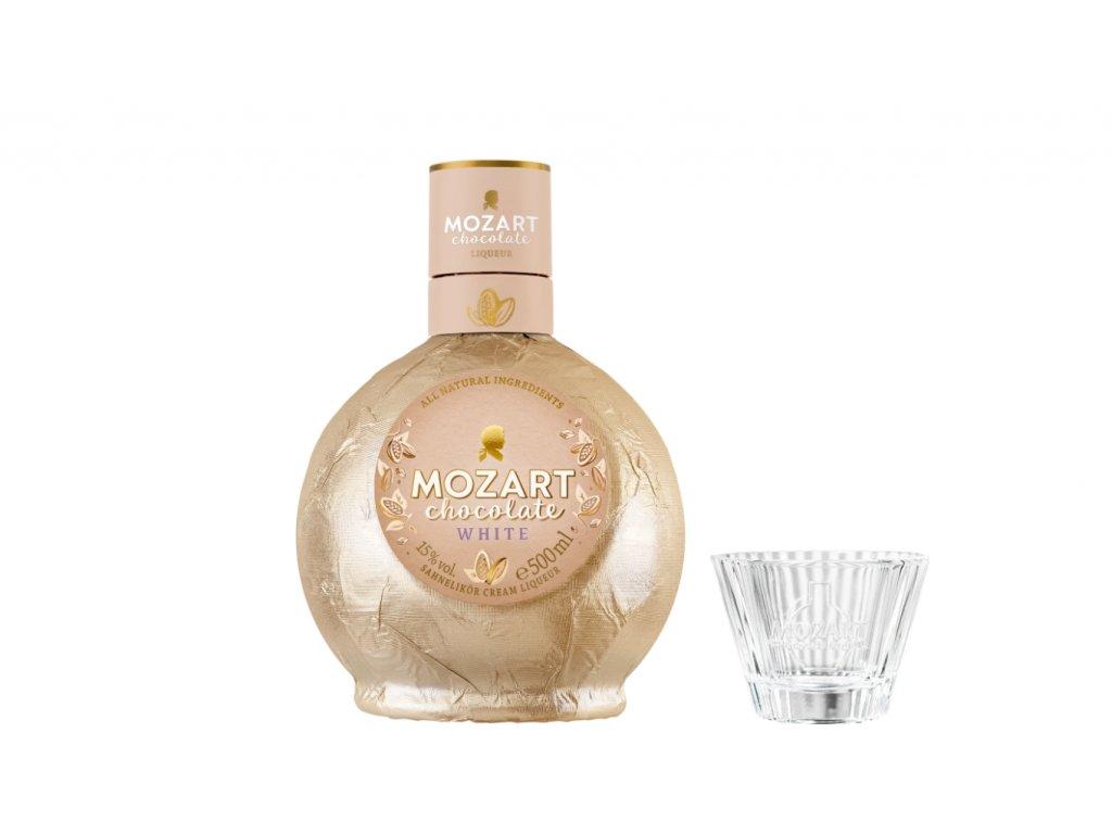 Mozart White Chocolate Cream 15% 0,7l