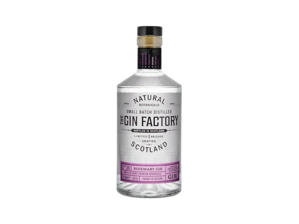 The Gin Factory Rosemary 43,8% 0,7l