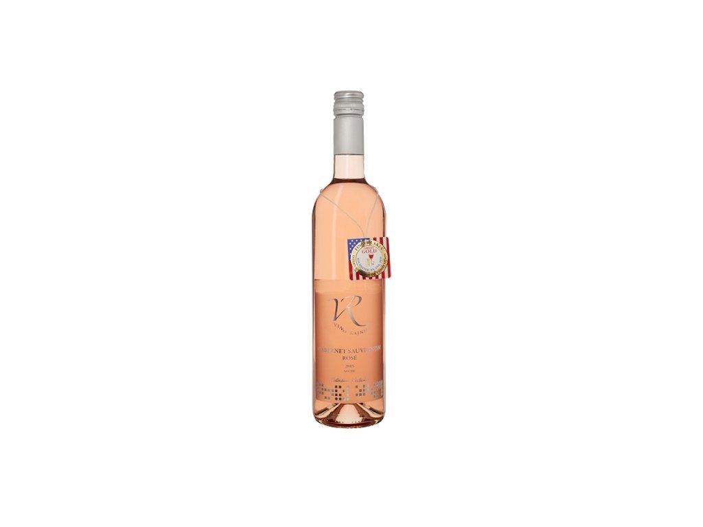 Víno Rajnic Cabernet Sauvignon Rosé Polosuché 2017 0,75l