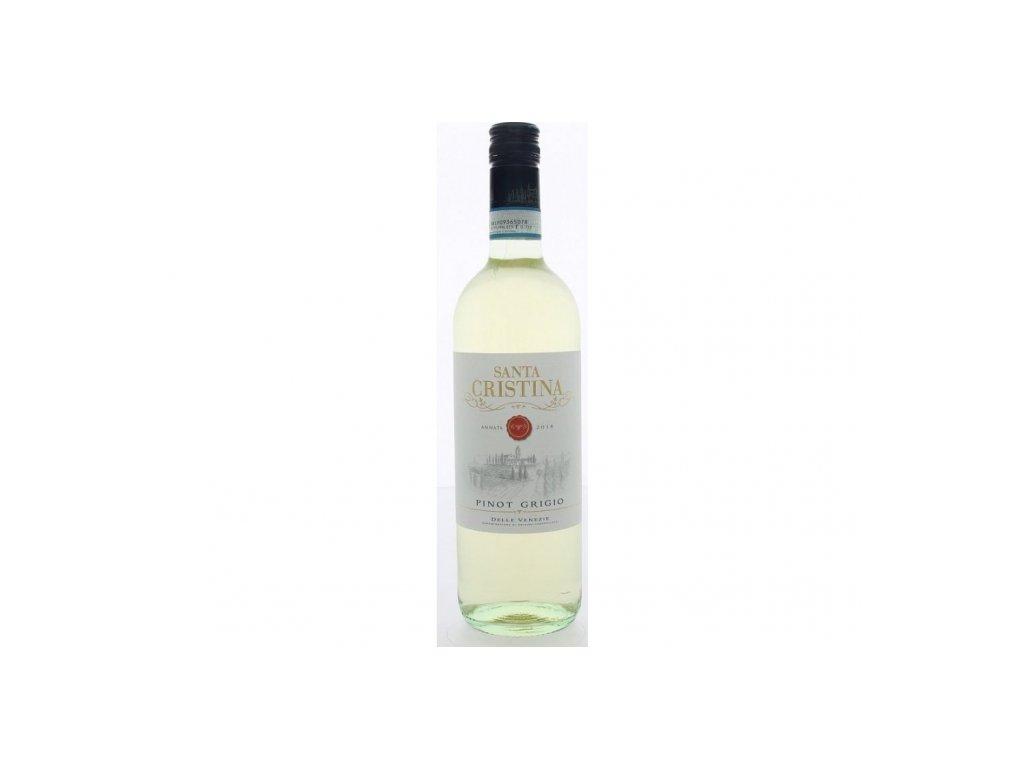 Víno Santa Christina Pinot Grigio delle Venezie 2018, 0,75l