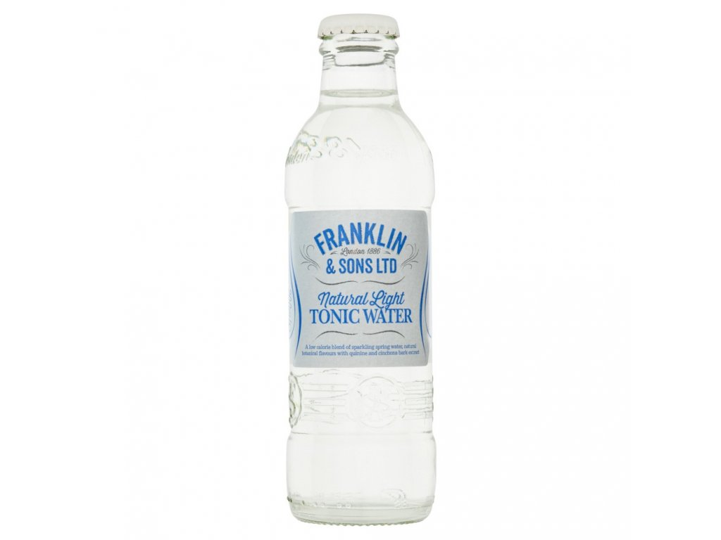 franklin sons natural light indian tonic water 200ml temp